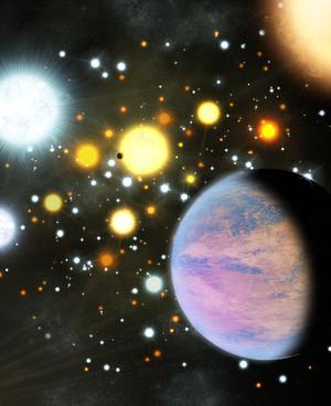 天文学家在恒星团内发现了外来行星