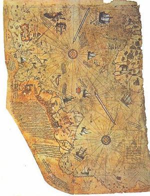 南極古地圖