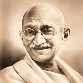 mahatma ghandi a hero